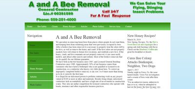 A and A Bee Removal